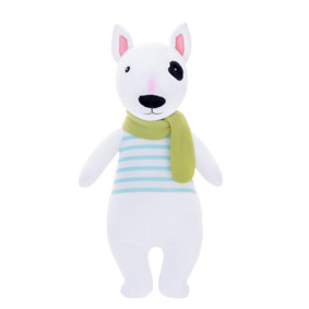 Мягкая игрушка Пес в полосатой майке, 31 см (код товара: 47993): купить в Berni