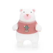 М'яка іграшка Ведмедик у рожевому светрі, 35 см (код товара: 47978)