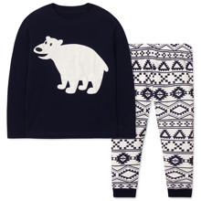 Піжама дитяча Білий ведмедик оптом (код товара: 47964)