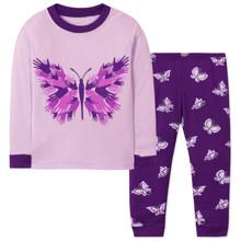 Пижама для девочки Бабочка оптом (код товара: 47955)