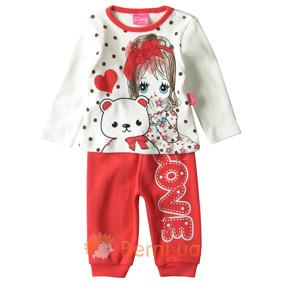 Костюм 2 в 1 для девочки Baby Sport (код товара: 4847): купить в Berni
