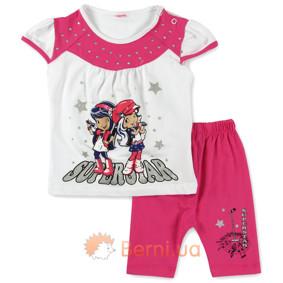 Костюм 2 в 1 для девочки Baby Sport (код товара: 4848): купить в Berni
