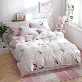 Комплект постельного белья Филин (двуспальный-евро) (код товара: 48099): купить в Berni