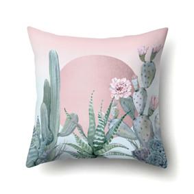 Подушка декоративная Алоэ и кактус 45 х 45 см (код товара: 48064): купить в Berni