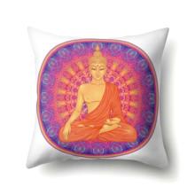 Подушка декоративная Будда 45 х 45 см (код товара: 48068)