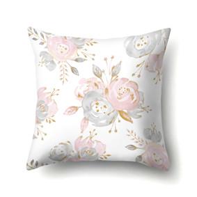 Подушка декоративная Цветы 45 х 45 см (код товара: 48066): купить в Berni