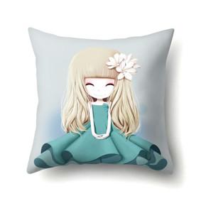 Подушка декоративная Девочка и магнолия 45 х 45 см (код товара: 48049): купить в Berni
