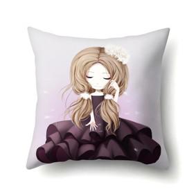 Подушка декоративная Девочка и одуванчик 45 х 45 см (код товара: 48040): купить в Berni