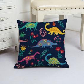 Подушка декоративная Динозаврики 45 х 45 см (код товара: 48035): купить в Berni