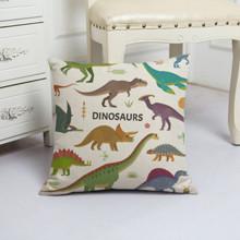 Подушка декоративная Динозавры 45 х 45 см оптом (код товара: 48033)