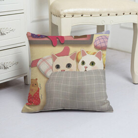 Подушка декоративная Котята 45 х 45 см (код товара: 48072): купить в Berni