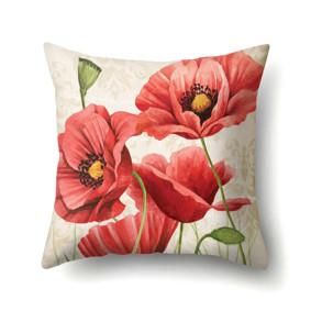 Подушка декоративная Красные маки 45 х 45 см (код товара: 48018): купить в Berni