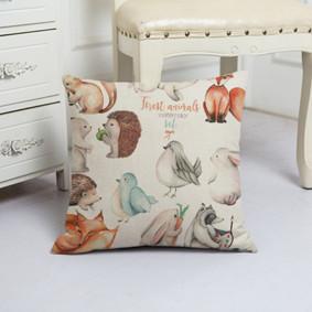 Подушка декоративная Лесные животные 45 х 45 см (код товара: 48028): купить в Berni