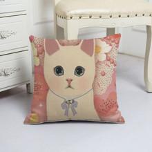 Подушка декоративная Милый котенок 45 х 45 см (код товара: 48073)