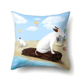 Подушка декоративная Пес на пляже 45 х 45 см (код товара: 48051): купить в Berni