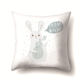Подушка декоративная Привет, зима! 45 х 45 см (код товара: 48020): купить в Berni