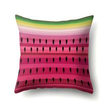Подушка декоративная Сочный арбуз 45 х 45 см (код товара: 48037)