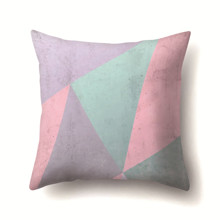Подушка декоративная Треугольники 45 х 45 см (код товара: 48009)