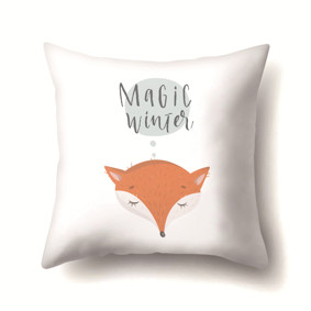 Подушка декоративная Волшебная зима 45 х 45 см (код товара: 48022): купить в Berni