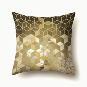 Подушка декоративная Золотые кубики 45 х 45 см (код товара: 48014): купить в Berni