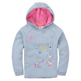 Кофта с капюшоном для девочки Зайчик (код товара: 48126): купить в Berni