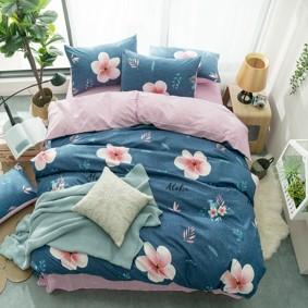 Комплект постельного белья Цветок (двуспальный-евро) (код товара: 48149): купить в Berni
