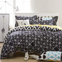 Комплект постельного белья Геометрия (двуспальный-евро) (код товара: 48145)