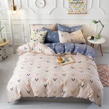 Комплект постельного белья Стрелочки (двуспальный-евро) (код товара: 48103)