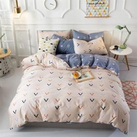 Комплект постельного белья Стрелочки (двуспальный-евро) (код товара: 48103): купить в Berni