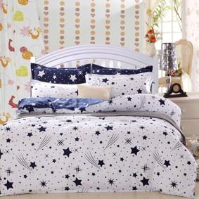 Комплект постельного белья Звезды (евро) (код товара: 48165): купить в Berni