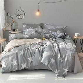 Комплект постельного белья Звезды (полуторный) (код товара: 48104): купить в Berni