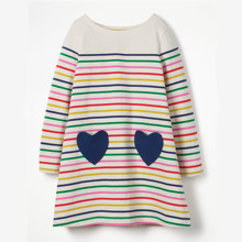 Платье для девочки Два сердца (код товара: 48112)