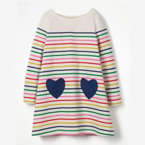 Платье для девочки Два сердца (код товара: 48112): купить в Berni