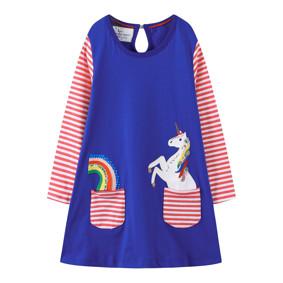 Платье для девочки Единорог (код товара: 48108): купить в Berni