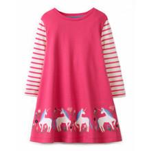 Платье для девочки Единороги (код товара: 48111)