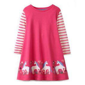 Платье для девочки Единороги (код товара: 48111): купить в Berni