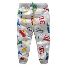 Штаны для мальчика Разноцветный транспорт (код товара: 48118)