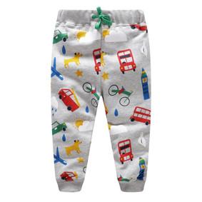 Штаны для мальчика Разноцветный транспорт (код товара: 48118): купить в Berni