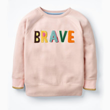 Свитшот для девочки Brave оптом (код товара: 48119)