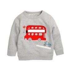 Світшот для хлопчика Автобус оптом (код товара: 48114)