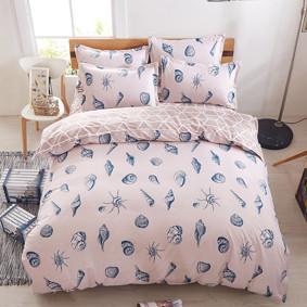 Уценка (дефекты)! Комплект постельного белья Ракушки (полуторный) (код товара: 48182): купить в Berni