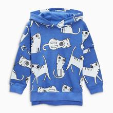 Детская кофта с капюшоном Котята оптом (код товара: 48288)