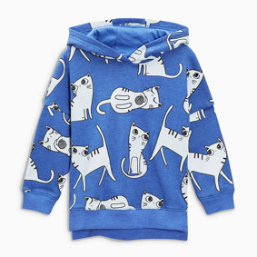 Дитяча кофта з капюшоном Кошенята (код товару: 48288): купити в Berni