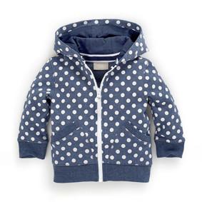 Кофта с капюшоном для девочки Горошек (код товара: 48292): купить в Berni