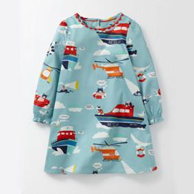 Платье для девочки Морской патруль (код товара: 48272): купить в Berni