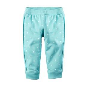 Штаны для девочки Горошек, голубой оптом (код товара: 48256): купить в Berni