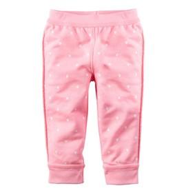 Штаны для девочки Горошек, розовый оптом (код товара: 48255): купить в Berni