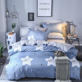 Уценка (дефекты)! Комплект постельного белья Мерцающая звезда (двуспальный-евро) (код товара: 48200): купить в Berni