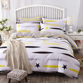 Уценка (дефекты)! Комплект постельного белья Небо (двуспальный-евро) (код товара: 48239): купить в Berni