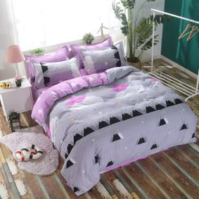 Уценка (дефекты)! Комплект постельного белья Спящая звездочка (двуспальный-евро) (код товара: 48206): купить в Berni